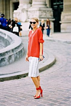 Necklines 101: How Low to Go for Every Occasion via @WhoWhatWear