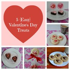 East Coast Mommy: 5 Easy Valentine's Day Treats