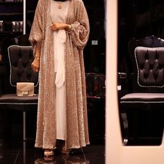 White Ivory Lace Flower Girl Dresses 2017 Tank Long Girls First Communion Dress Pagaent Dress vestidos primera comunion 2016 from Reliable dresses plus size girls suppliers on Bright Li Wedding Dress Islamic Fashion, Arab Fashion, Muslim Fashion, Modest Fashion, Fashion Outfits, Hijab Evening Dress, Hijab Dress, Hijab Outfit, Abaya Designs