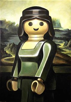 Check these interesting creations from The French artist Pierre-Adrien Sollier, that combines Playmobil with famous works of art. Check out our over 120 Playmobil products here! Arte Pop, Chef D Oeuvre, Oeuvre D'art, Pop Art, Mona Lisa Parody, Mona Lisa Smile, Classic Paintings, Classic Artwork, Arts Ed