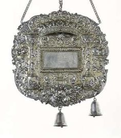 This Torah Shield made circa 1695-1700, by Domenikus Saler (active 1696-1718) in  Augsburg, Germany is a gift of Dr. Harry g. Friedman to the permanent archives of The Jewish Museum in New York. Photo courtesy The Jewish Museum