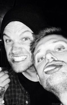 I'm loving this new pic of J2! grin emoticon Goofs