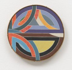 "Richard Pettibone. Frank Stella, ""Sinjerli III,"" 1968. 1969"