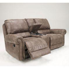 Oberson Gunsmoke Reclining Sofa By Signature Design By