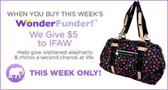 Paws Galore Expedition Satchel - This week's Wonder Funder at the Animal Rescue Site