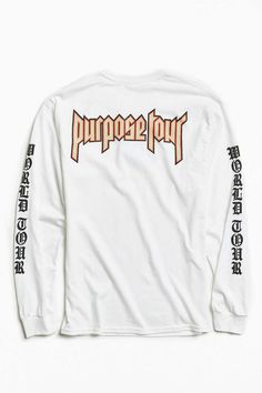 Justin Bieber Purpose Tour Long-Sleeve Tee