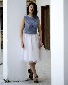 Handmade Knitted Top by Nicole Karali  Knitwear  🌐 www.nkarali.com fb: Nicole Karali knitwear 📷: #nicole_karali_knitwear   ☎: +30 2331063530 ✉   Ήρας 7, Βέροια
