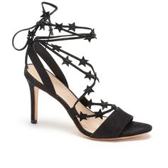 glam black sandals - so perfect!!
