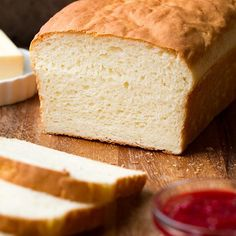 This is hands down the best homemade gluten free bread recipe. It's a tasty gluten free white bread that's incredibly easy to make! Wheat Free Recipes, Dairy Free Recipes, Bread Recipes, Paleo Bread, Corn Flour Recipes, Pasta Recipes, Rock Crock Recipes, Vegetarian Recipes, No Yeast Bread