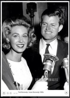 Joan and Ted Kennedy