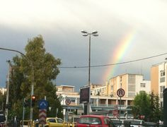 there is always hope if you can see the rainbow :)