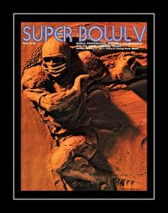 """1971 Super Bowl V Official Game Program Cover Art Poster. Only the second Super Bowl played after the AFL-NFL merger, the Dallas Cowboys and the Baltimore Colts played Super Bowl V in 1971. We offer you here a Super Bowl V program, so that you can have a piece of the so-called """"Blunder Bowl."""" Also, significant is the fact that Chuck Howley, a defensive player on the losing Cowboys, took home game MVP honors. Details High-quality photographic print Printed on heavyweight satin photo paper Ready"""