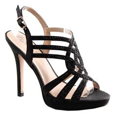 VIVA-2 high heels by De Blossom Collection #strappy #heels #black
