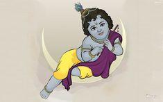 Vector Art - Baby Krishna by rames on DeviantArt Krishna Statue, Bal Krishna, Cute Krishna, Krishna Art, Krishna Lila, Radhe Krishna, Krishna Tattoo, Krishna Drawing, Krishna Painting