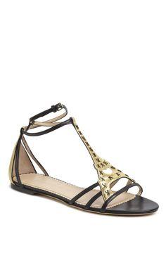 Charlotte Olympia: Parisienne T-Strap Sandal