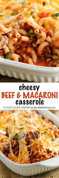 Cheesy Beef & Macaroni Casserole See more tips here: www.FitWithJenna.com Join my FREE group: www.Facebook.com/groups/HealthyAndFitWithJenna www.BeachBodyCoach.com/FitWithJenna