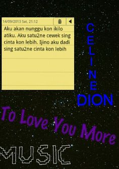 Celine dion's song of java language xxx