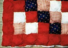 Puff quilt instructions!
