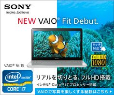 SONY NEW VAIO Fit Debut 300px × 250px