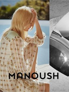 Spring-Summer 2016 Ad Campaign - Manoush