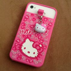 My hello kitty phone case:) LOVE:)