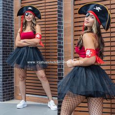 52 Most Trendy Halloween Costumes College To Copy Right Now Cute Clown Costume, Cute Group Halloween Costumes, Cute Costumes, Halloween Kostüm, Halloween Cosplay, Halloween Outfits, Costumes For Women, Diy Pirate Costume For Women, Halloween Kleidung