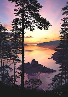 Castle Tioram sunset ... Highlands, Scotland | by Andrew Hill