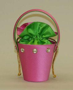 Pink & Green Purse Carey Adina (American, born 1957) Date: 1991–92