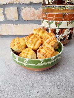 Krumplis pogácsa - Tejturmix Serving Bowls, Eat, Tableware, Drink, Dinnerware, Beverage, Tablewares, Dishes, Place Settings