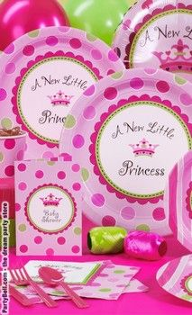 A New Little Princess Baby Shower Standard Party Pack  For 16 - $44.07  For 8 - $25.77