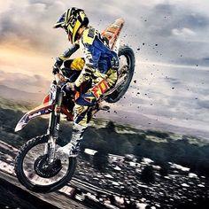 Motocross is a contact sport, see you in the first corner. Yamaha Motocross, Motocross Riders, Bike Freestyle, Freestyle Motocross, Motocross Maschinen, Dirt Bike Racing, Dirt Biking, Ktm Dirt Bikes, Ryan Dungey