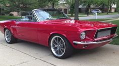 '68 Mustang with a Toyota engine?