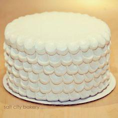 Simple wedding cake / by Salt City Bakery