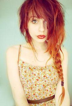 we love coloured hair!