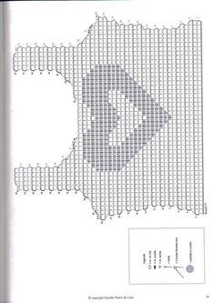 Resultado de imagen de top crochet patrones