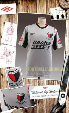 9e2951c02 Colón de Santa Fe Umbro 2012 Third Kit. Soccer Jerseys ...