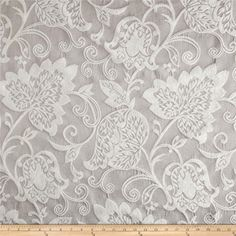 Benartex Home Renaissance Chenille Jacquard Lavender Grey $7.49/y Contents 60% Rayon/40% Polyester Fabric Weight Very Heavyweight Horizontal Repeat 14 Vertical Repeat 25.5 Width 56'' Manufacturer Benartex Collection Benartex Home Opulence Collection