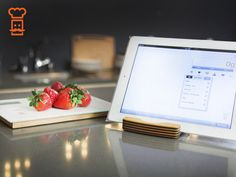 Smart Food Scale: Less about WEIGHT, more about YOU. Easy to use bluetooth food scale with companion iOS app that tracks what you eat and provides accurate nutritional information.