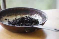 Get Rid Of Grease And Grime    Dirty pans are the worst, but fortunately, coffee grounds help remove a lot of the tough grease.