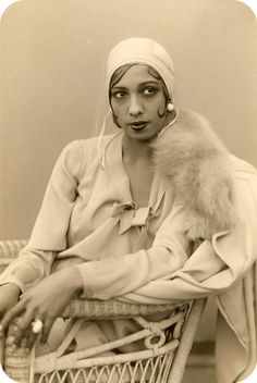 Josephine Baker.      A very beautiful woman.