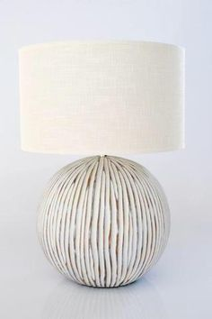 Ribbed Lamp – Unique Wood