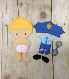 Police Officer Paper Doll Google Search Tutor Stuff