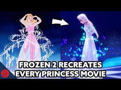 How Frozen 2 Recreates EVERY Disney Princess Movie