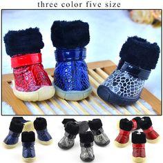 Pet Dog Shoes Snow Winter 4pcs/set Dog's  Boots Waterproof Cotton Super Warm Anti Slip XS-XL Pet Cat Product ChiHuaHua Small Big // FREE Shipping //     Buy one here---> https://thepetscastle.com/pet-dog-shoes-snow-winter-4pcsset-dogs-boots-waterproof-cotton-super-warm-anti-slip-xs-xl-pet-cat-product-chihuahua-small-big/    #pet #animals #animal #dog #cute #cats #cat
