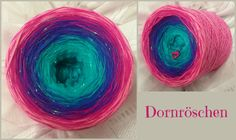 Dornröschen Hochbauschacryl 6 Farben: helltürkis oceangrün königsblau lila fuchsia blüte