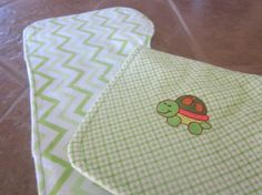Baby Burp cloth set of 2 contoured fit burp by 1SweetBoutique, $12.00