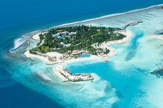 Photo: Holiday Inn Kandooma Resort - South Male Atoll - Maldives-- Who would guess? Kandooma Maldives, Visit Maldives, Maldives Travel, Places To Travel, Places To Visit, Beautiful Sunrise, Future Travel, Where To Go, Resorts