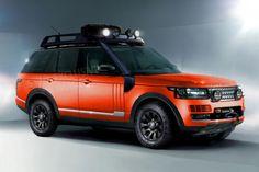 Range Rover SVO off-roader front