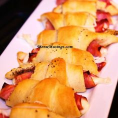 Ham and Cheese Crescents - for kids, by kids