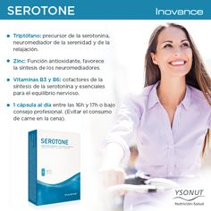 Nuestro suplemento alimenticio Inovance #SEROTONE te ayuda a reducir los trastornos del sueño gracias a su contenido en triptófano, vitaminas y zinc. Mejora tu descanso y empieza el día con #energia y ánimos renovados